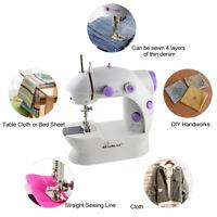 Mini Sewing Machine Mini Electric Portable Hand Held 2 Speed/ Sew Needles