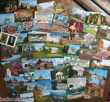 57 Virginia & West V. Postcards from 1960's unused