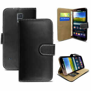 Samsung Galaxy S6 Edge+ PLUS Case Flip PU Leather Cover Book Stand Wallet Card