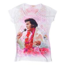 Elvis Aloha Ladies T-shirt Skinny XL