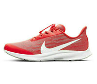 NIKE AIR ZOOM PEGASUS 36 FLYEASE Running Gym Trainers UK Size 9.5 (EUR 44.5) Red