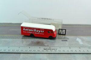 Brekina 57613 Old Timer Magirus Deutz Transport Truck Red 1:87 HO Scale