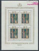Liechtenstein 734 Kleinbogen postfrisch 1979 Landespatrone (8910459