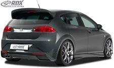 Seat Leon 1P (2009+) - Rear bumper spoiler