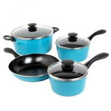 New Sunbeam Armington 7 Piece Cookware Set Teal