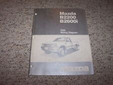 1990 Mazda B2200 B2600i B-Series Truck Electrical Wiring Diagram Manual Book