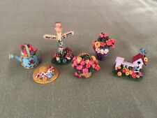 New ListingVintage Mary Engelbreit miniature accessory figurines collection 1998 lot of 6