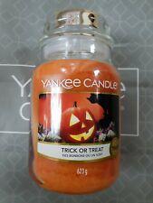 Yankee Candle Trick or Treat Large Jar Halloween ginger caramel 1