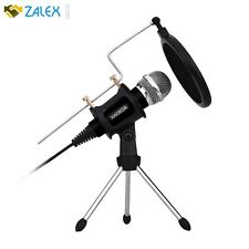 Profession Condenser Microphone Recording With Stand For PC Computer Iphone