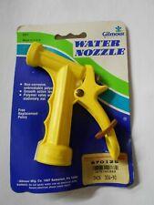Gilmour 501 Universal Polymer Garden Water Hose Nozzle Solid Brass Valve - USA