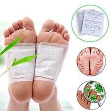 Kräuter-Detox-Fuß-Auflagen 10 Entgiftungs-Reinigungs-Flecken neu mit Kasten