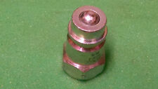 Dixon Valve AG4F4 Steel Agricultural Push-Pull Ball Valve Hydraulic Fitting, x -