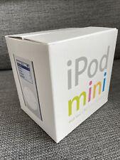 Apple iPod Mini 1st Gen Silver In the Original Box! 4GB Collector Condition RARE