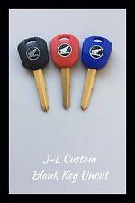 99-12 Blank Key- For Honda CBR-1000RR 900RR 600RR CBR954RR F4I. Blue,Red & Black
