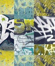 Tapeten für Jungen mit Graffiti-Motiv