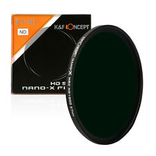 K&F Concept 82mm ND1000 Filter Neutral Density ND 1000 10 Stop Optical Glass