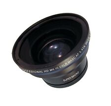 ZE543R 0.43X Professional HD Fisheye Lens for Camera Size 67MM 72MM