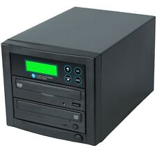 1-1 DVD/CD Easy Copy Burner Duplicator with USB Flash Memory to Disc Converter