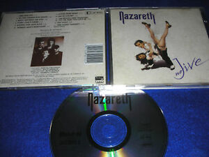 CD NAZARETH metal NO JIVE 11 titres 1991 MAUSOLEUM gmbh