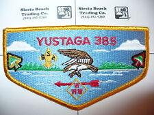 OA Yustaga Lodge 385,S-33,1990s Landing Osprey Flap,Gulf Coast Cncl,Pensacola,FL