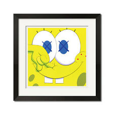 Spongebob SquarePants I Can't Feel My Face Urban Street Graffiti Poster Print