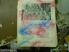 Vintage Program of the 10th Annual Angelic Choise Music Festival - 1966