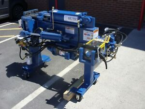 Used Huth Exhaust Bending Machine (Blue)