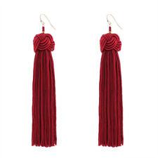 Fashion Bohemia Earrings Women Long Tassel Fringe Charm Dangle Hook Earrings New