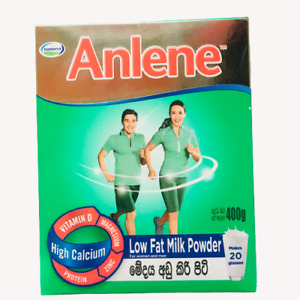 Anlene Gold Milk Powder  Anlene Plain Vanilla Powdered Milk Healthy Drink 400g