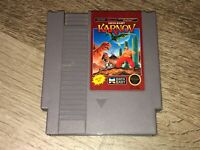 Karnov Nintendo Nes Cleaned & Tested Authentic