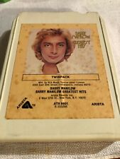 Barry Manilow/ Barry Manilow Greatest Hits 1978 Arista Records 8 Track Tape nice