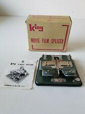 Movie Film Splicer Pour Pellicule 8/16 MM King Movie Film Splicer