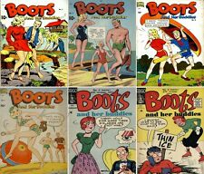 1948 - 1956 Boots and Her Buddies Digital Comic Books - 6 eBooks on CD