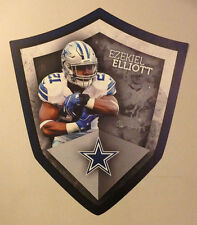 "Ezekiel Elliott FATHEAD Official Player Shield 21"" x 18"" Cowboys NFL Graphics"