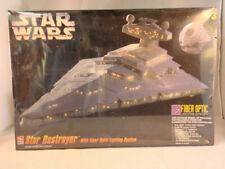 Star Wars Star Destroyer With Fiber Optic Lighting System 1995 AMT MPN 8782