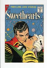 SWEETHEARTS #37 - HIGH GRADE  NONE ON CGC - VERY 1st SILVER AGE - GGA 1957