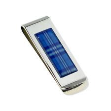 Scottish Saltire Tartan Design Money Clip - XMC1103C-012