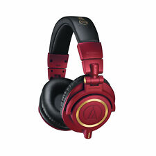 Audio Technica ATH-M50X Monitor Headphones - Red