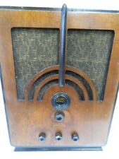 Philco Radio Model 60 Moderne Baby Grand Tombstone 1934