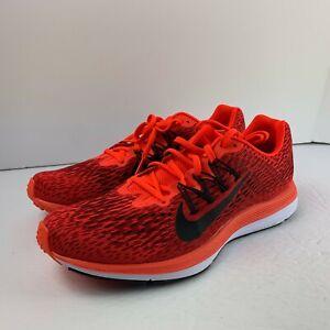 Nike Zoom Winflo 5 Running Shoes Red Bright Crimson AA7406-600 Men's NEW