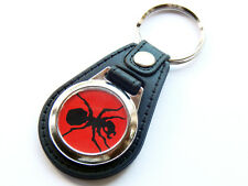 More details for the prodigy red ant electronic dance group quality leather and chrome keyring