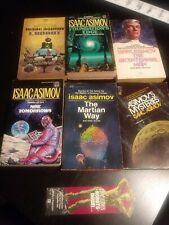 Vintage- Isaac Asimov Paperback Book Lot- Science Fiction - 8 Books