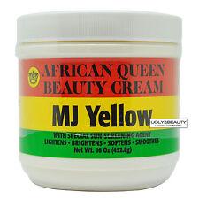 African Queen Beauty Cream Mj Yellow 16 Oz / 452.8 g
