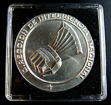 CHILE, DINA, EXTREMELY RARE SILVER MEDAL, THIS WAS THE ORIGINAL DESIGN, ONLY ONE