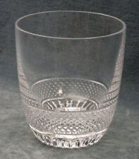 WATERFORD CRYSTAL STEMLESS WATER GLASS