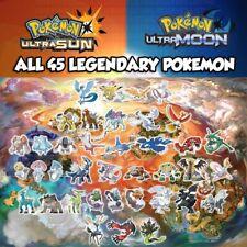 Pokemon Ultra Moon & Ultra Sun Shiny Legendary Bundle 6IVs FAST DELIVERY - LEGIT