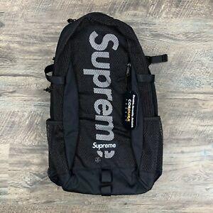 Supreme Black SS20 Mesh Backpack