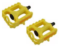 """NEW Bicycle Plastic Pedals 861 1/2"""" Lowrider BMX Mountain Bike Crusier Fixie"""