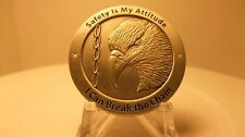 43d AW Chief of Safety Commanders Coin By Phoenix Challenge Coins