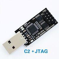 C8051F MCU Emulator USB Debug Adapter programmer JTAG/C2 U-EC3/EC5/EC6